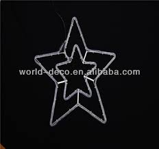 outdoor christmas hange star decorative christmas star light