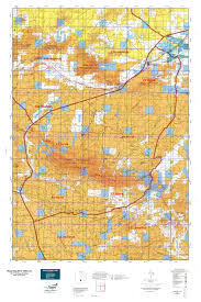 wy map wyoming elk gmu 22 map mytopo