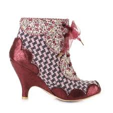 ankle boots uk ebay irregular choice dolly mixture grey pink ankle shoe boots