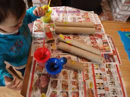 play paper roll telescopes the outlaw mom blog creative