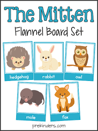 the mitten story sequencing u0026 flannel board cards the mitten