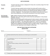 exit interview guidelines the association of fitness studios
