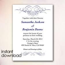 Wedding Invitation Samples Wedding Invitation Template Word Vertabox Com