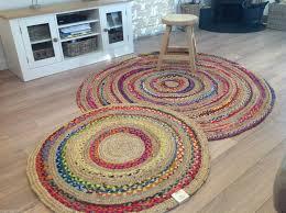Circular Bathroom Rugs by Round Rag Rug Roselawnlutheran