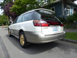 subaru cars white 2001 subaru outback ll bean awd auto sales