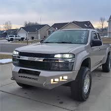 customized chevy trucks wiy custom bumpers chevy colorado trucks move