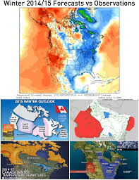 Canada Weather Map Forecast by News How Our Winter 2016 Seasonal Forecast Stacks Up To The Rest