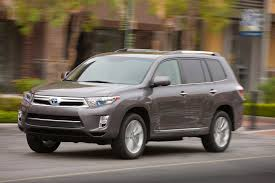top toyota cars 2013 toyota highlander hybrid reviews and rating motor trend