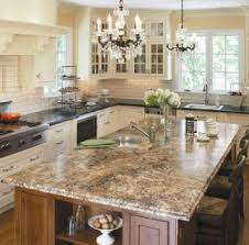 granite island kitchen gallery