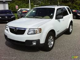 mazda tribute 2008 classic white mazda tribute s grand touring 34392844