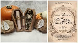 halloween special u0027rsvp if you dare u0027 invitations make it in design