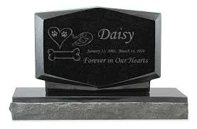 headstones for dogs pet grave markers polished black granite memorial headstones
