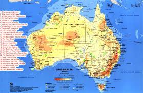Australia Population Map Australia In Australian Desert Map Evenakliyat Biz