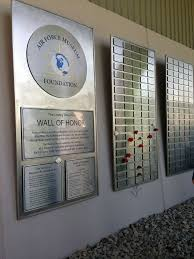 air force museum foundation hosts annual legacy data plate wall of