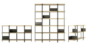 Zig Zag Room Divider Bookcase Bookcase Room Divider Mid Century Modern Low Bookcase