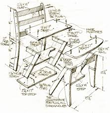 Free Wooden Folding Step Stool Plans by How To Build A Step Stool Simple Diy Woodworking Project