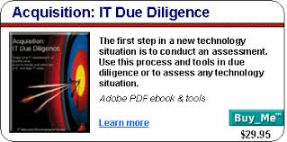 it due diligence template it due diligence checklist due