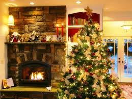 Christmas Dining Room Decor Interior How To Decorate Living Room For Christmas Features White