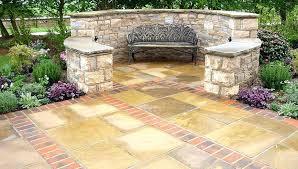 Patio Stone Ideas by Garden Patio Paving U2013 Smashingplates Us