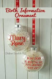 25 unique baby ornaments ideas on newborn crafts