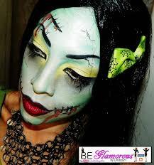 be glamorous by lindsay frankenstein halloween look