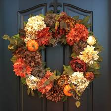 fall wreaths etsy autumn wreaths fall decor trevey