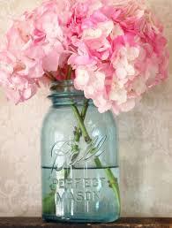 Mason Jar Vases Wedding Best 25 Mason Jar Hydrangea Ideas On Pinterest Rustic Mason