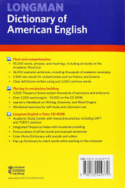 buy longman dictionary of american english 4th edition paperback