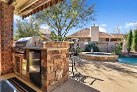 Concrete Patio Houston Carvestone Can Cover Concrete Pea Gravel Cool Deck And Brick Pool