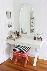 Lighted Vanity Table With Mirror And Bench Bedroom Fabulous Glass Vanity Table Women U0027s Vanity Dresser