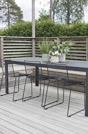 Outdoor Dining Area With No Chairs Hviitblogg No Garden Chairs From Hay Hviit No Something Green