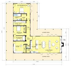 Large Bungalow Floor Plans Enchanting U Shaped Bungalow Floor Plans Pictures Design Ideas