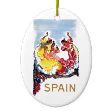 flamenco dancer tree decorations ornaments zazzle au