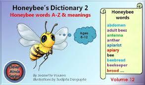 children u0027s books honeybee u0027s dictionary 2 volume 12 honey bee
