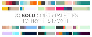 bold color 20 bold color palettes to try this month august 2015 creative
