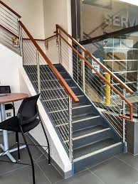 Cable Banister Stainless Steel Round Cable Railing Raymond Nh