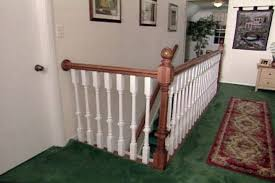 Wood Handrail Kits Stairs How To Install Stair Railing Easily Mesmerizing How To
