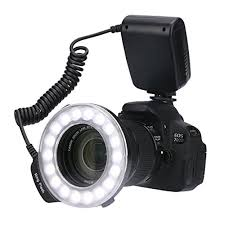 macro lens ring light timack rf 600d 18 macro led ring flash bundle with lcd display power