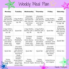 meal plan danielle prestejohn page 2