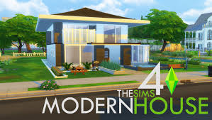 บ านสไตล โมเด ร น the sims 4 modern house timelapse build