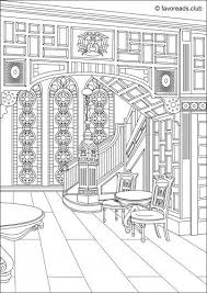 coloring pages houses 430 best coloring houses images on pinterest drawings coloring