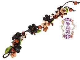 leather leaf bracelet images Leather flower leaf hippie boho bohemian bracelet jewelry jpg