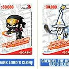 Maplestory Chairs Maplestory Acash Cards White Cards Toys U0026 Games On Carousell