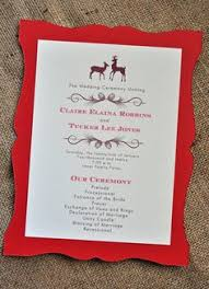 christmas wedding programs and gold invitation invitations programs