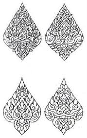 thai ornament vector zoeken ornate