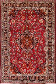 Rug 7x10 Mashad Persian Area Rug