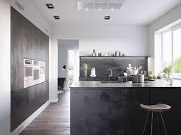 design modern kitchen ideas black cabinet white wall paint pantry