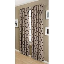 softline sahara rod pocket 96 inch curtain panel free shipping