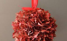 homespun fabric ornament hometalk