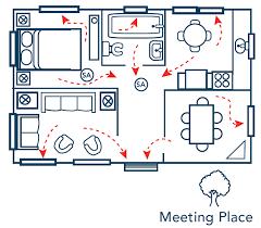 fire evacuation floor plan home escape planning